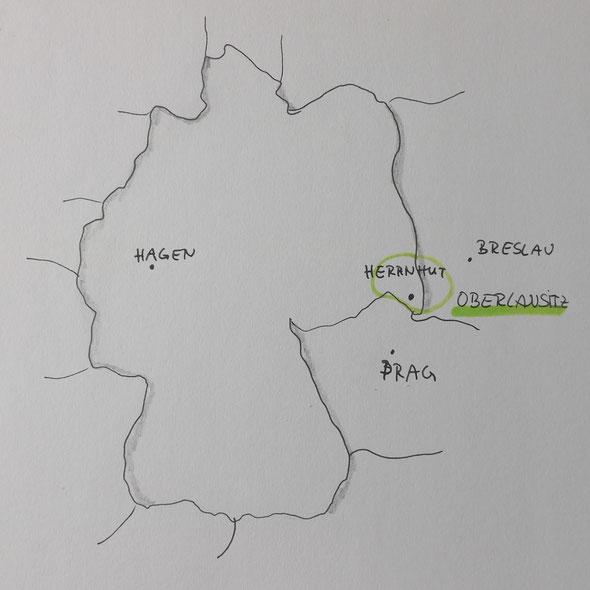 Oberlausitz und Herrnhut