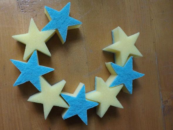 Sternenreigen - oder ein Sternenmond.