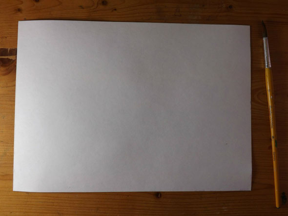 Ein Blatt Papier - a sheet of paper