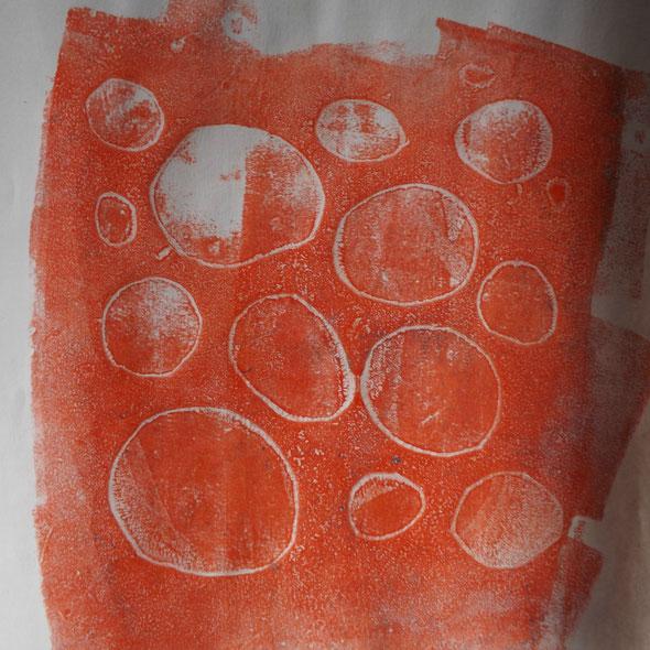 Oder so etwas. Die sogenannten Geisterdrucke - die Zweitdrucke - sind oft sehr spannend.