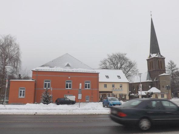 der Schnee von gestern im letzten Bild meines 12tel Blickes von 2014