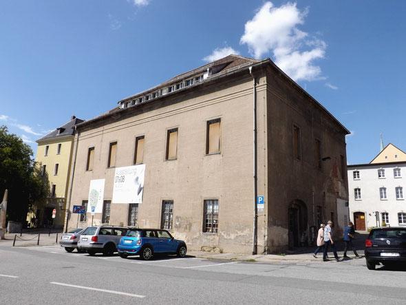 Das Gewandhaus in Löbau - seit 25 Jahren im Dornröschenschlaf - bis jetzt