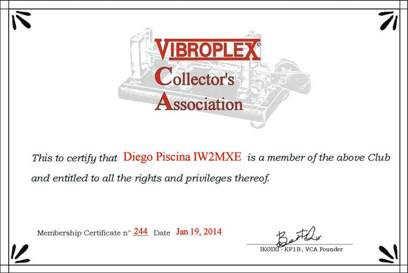 Vibroplex Collector's Association