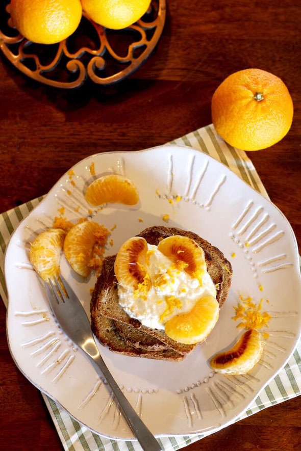 Here's a simple easy recipe! Halos Mandarin Orange French Toast is healthy and one of the best.