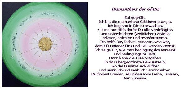 Diamantherz der Göttin