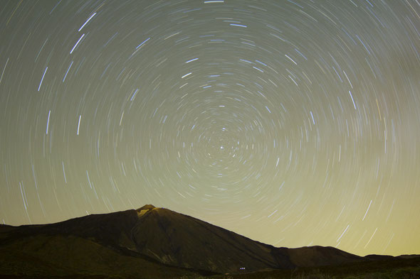 Tenerife, bestemming van de allereerste astroreis en nog altijd een geliefkoosde astroreis-bestemming! Foto van de recentste astroreis naar Tenerife, mei 2015 (Foto: Otto Dehulsters)