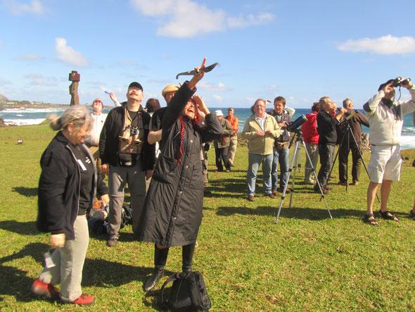Na de eerste eclipservaring in Guadeloupe in 1998 hebben we de smaak van eclipsreizen goed te pakken! In 2010 reizen 39 enthousiaste astroreizigers naar het Paaseiland, voor de totale zonsverduistering van 11 juli 2010.