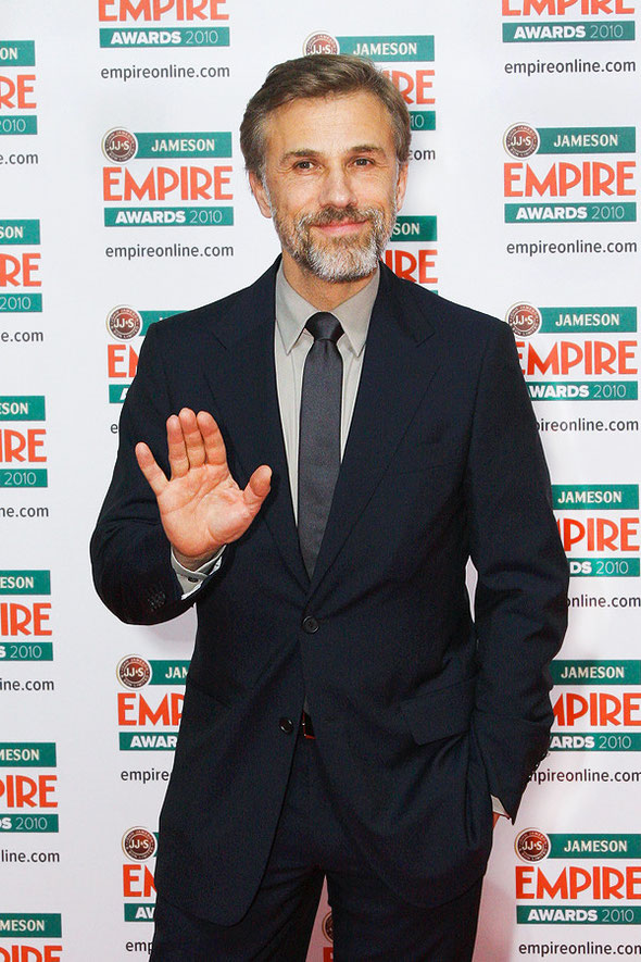 Christoph Waltz attends Jameson Empire Awards in London