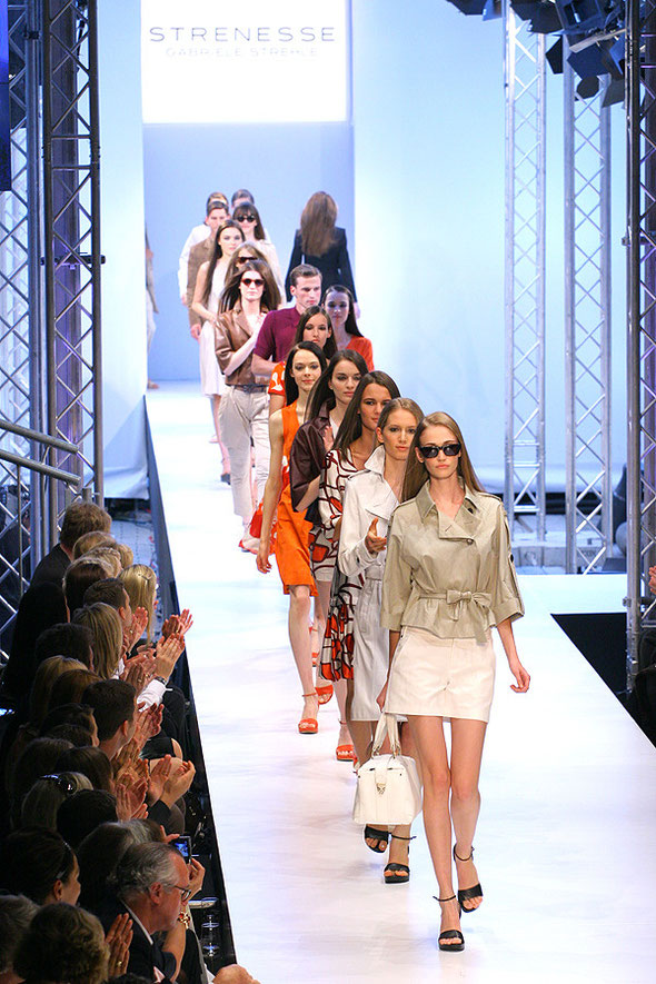 Strenesse show at Berlin Fashion Week