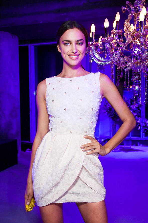 Irina Shayk at Love Republic show