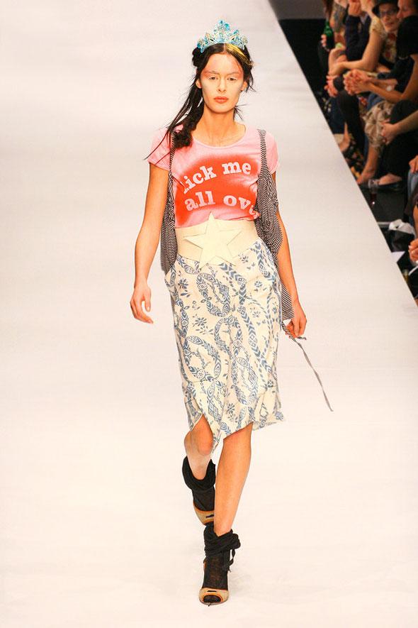 Vivienne Westwood show at Berlin Fashion Week