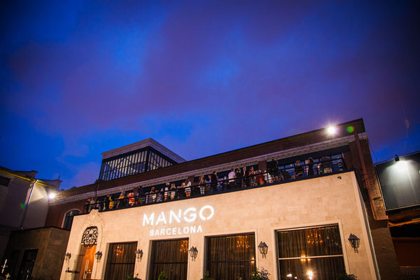 Mango show in Moscow