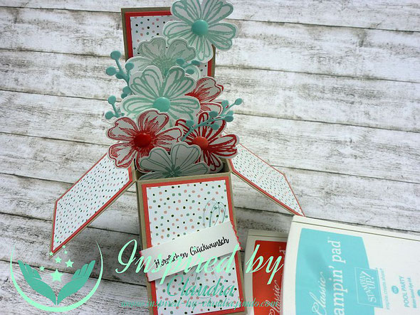 Stampin' Up! Card in a Box Flower Shop