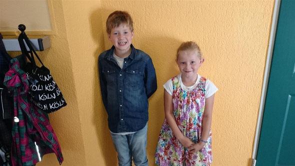 Henk und Johanna sind unsere neuen Klassensprecher!