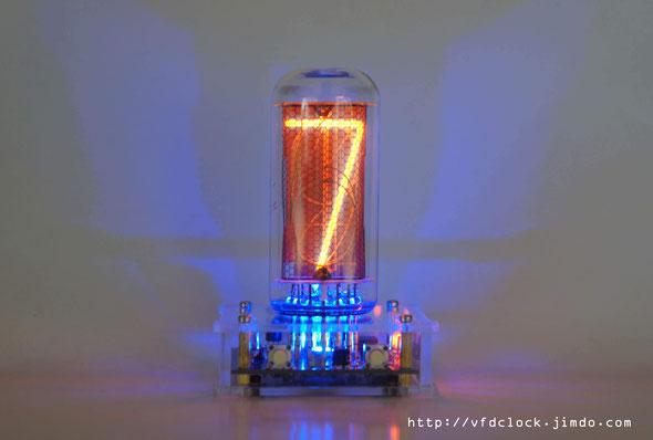 前苏联IN-18大管单管辉光时钟 V1.0 IN-18 Single Digit NIXIE Clock