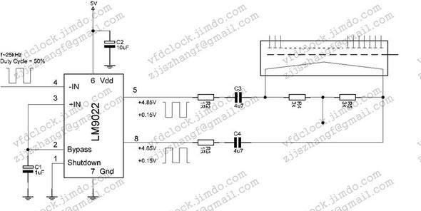 LM9022专用驱动电路