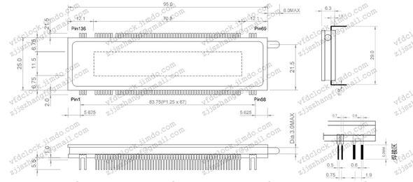 SAMSUNG IOR-20T205尺寸规格图1