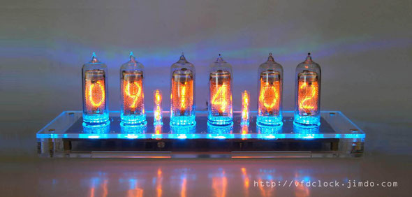 USB Power 6-Tube IN-14 Nixie Click V1.0