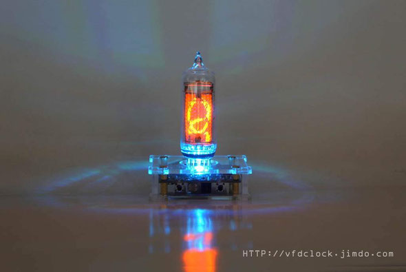IN-14 single digit nixie clock