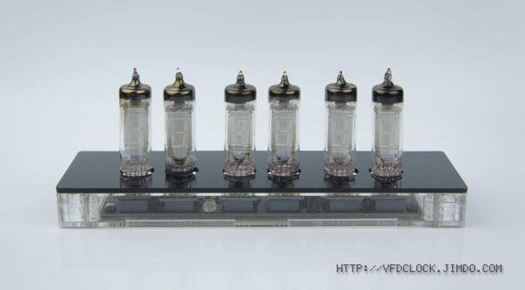 IV-6 6-tube vfd clock diy
