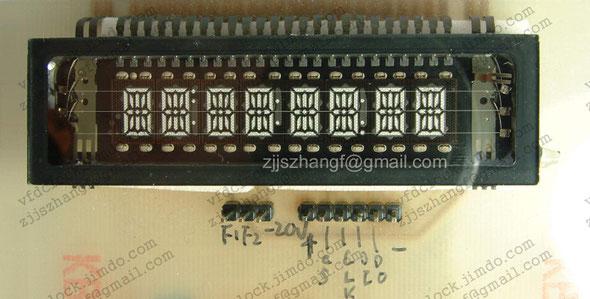 HT16511专用驱动电路制作的试验电路板-2
