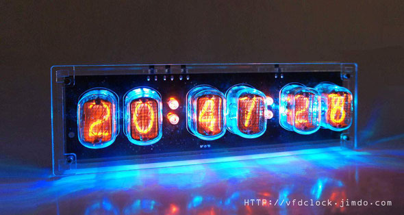 IN-12 6-tube NIXIE clock