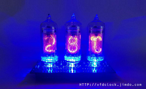 USB Powered NIXIE Thermometer-DIP version-IN-14+IN-19
