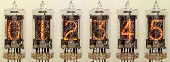 NEC CD-66A NIXIE Tube