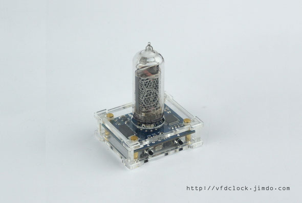 USB Powered IN-14 Single Digit NIXIE Clock V1.1