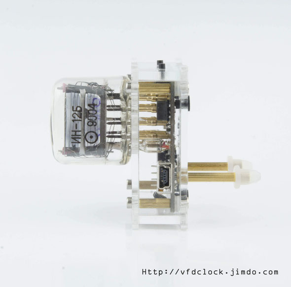 IN-12A/B single digital NIXIE clock