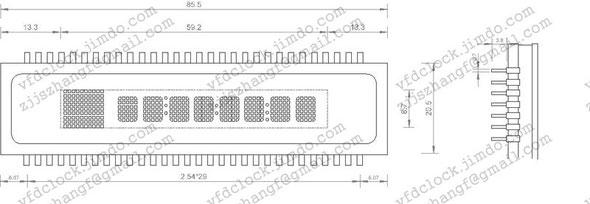 SAMSUNG SSVD HUV-13SS16T屏幕规格