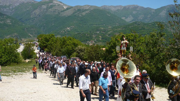 La processione del 12 Maggio
