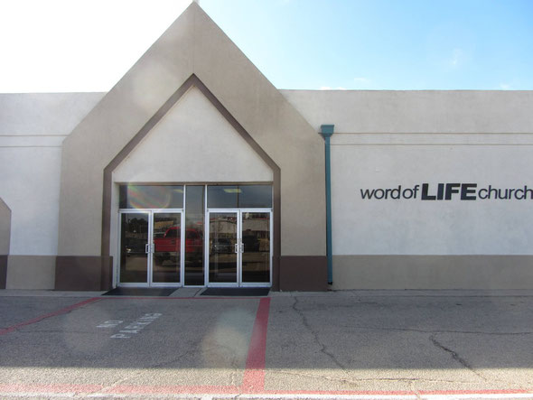This is the enterance to the counseling center at Word of Life Church North