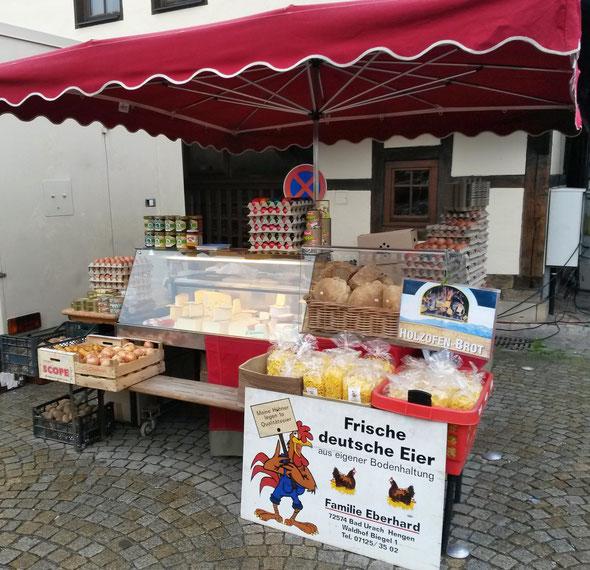 Marktstand Metzingen
