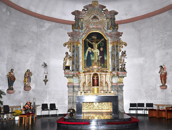 Pfarrkirche Zerf Innenraum