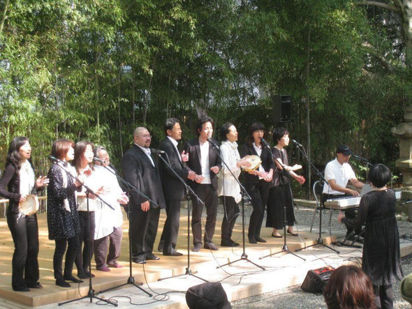 名古屋でステージ