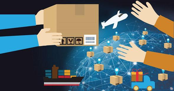 荷物の転送と発送
