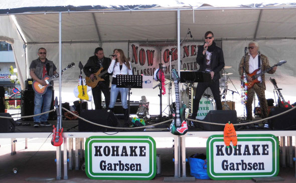 Maibaum fest mit der Now or Never Band