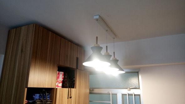 太古城燈飾安裝 Lighting installation@ Taikoo Shing HK