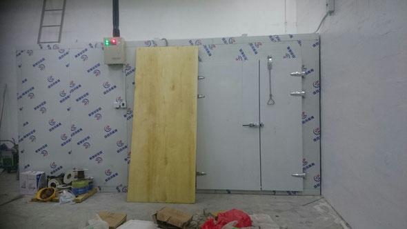 興建本地啤酒廠工程, 食品工場出牌 cold storage installation for a local food factory/ licence application