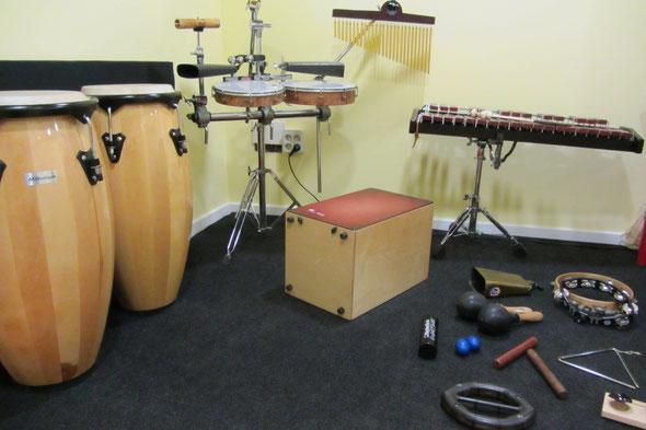 Percusión étnica