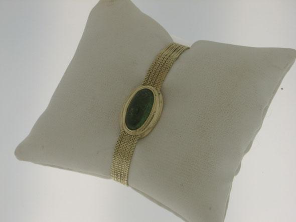 Ringkopf auf einem Uhrenarmband