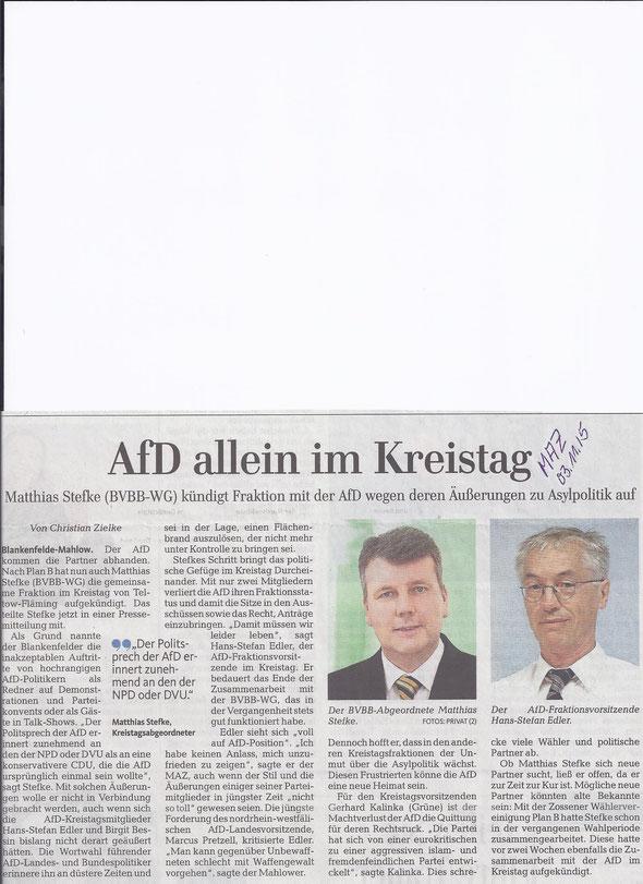 Quelle: MAZ/Zossener Rundschau 3.11.2015