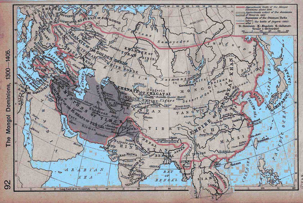 中国北方の騎馬民族は、日本人の先祖であるだけではなく、世界中の民族構成・物資や文明の交流に、計り知れない影響を与えました
