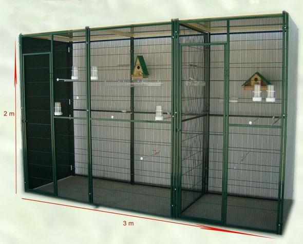 voladero jardín techo plano 3x1 c/2 paneles cortaviento 054.075--472€ portes incluidos en península