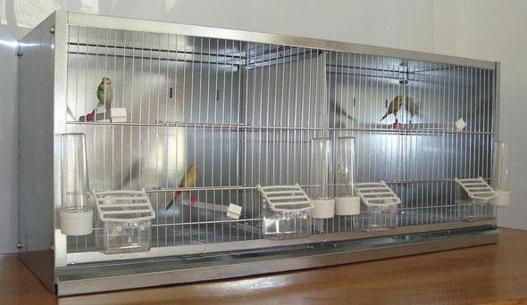 módulo cría nº9  zincado 2 dpts. desmontable 90x38x30 070.002- 68€ portes incluidos en península