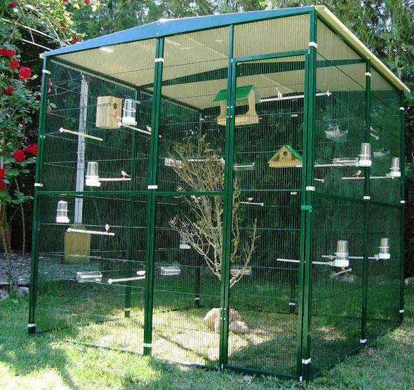 voladero jardín 4m2 (2x2) 054.010---420€ portes incluidos en península