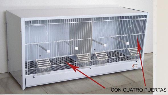módulo cría nº1 4 puertas 90x40x30 desmontable 070.003-85€ conjunto 4 plantas+pie´-295€ portes incluidos en península