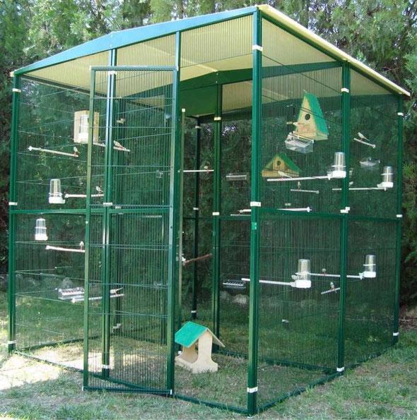 voladero jardín 4m2 (2x2) partido al centro 054.015---520€ portes incluidos en península