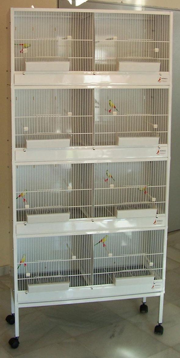 módulo cría nº1 90x40x30 desmontable 070.001--85€  conjunto 4 plantas + pié-295€ portes incluidos en península